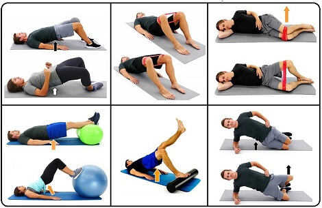 Glute activation exercises | best top  daily Glute activation exercises